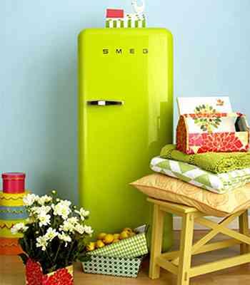 Seguindo a linha cinquetista, os aparelhos deixam a cozinha mais alegre e descontraída - Smeg/Divulgação
