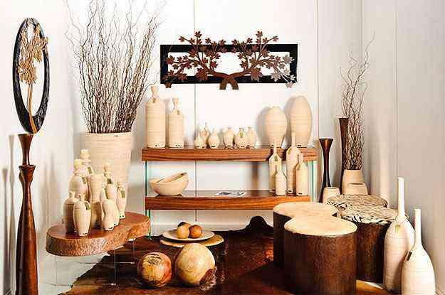 Na decoração, o artefato propõe um ambiente rústico, tendo em vista o caráter artesanal da peça  - Divulgação/Carolina Haveroth