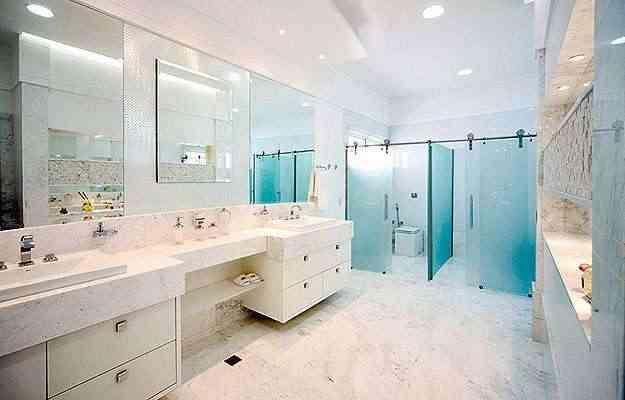 Banheiro com aplicação do drywall RU - Knauf/Divulgação