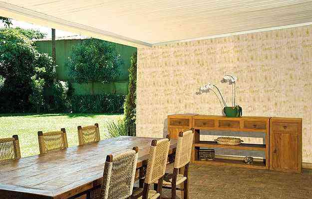 Efeito bambu propicia uma sensação de natureza e aconchego  - Suvinil/Divulgação