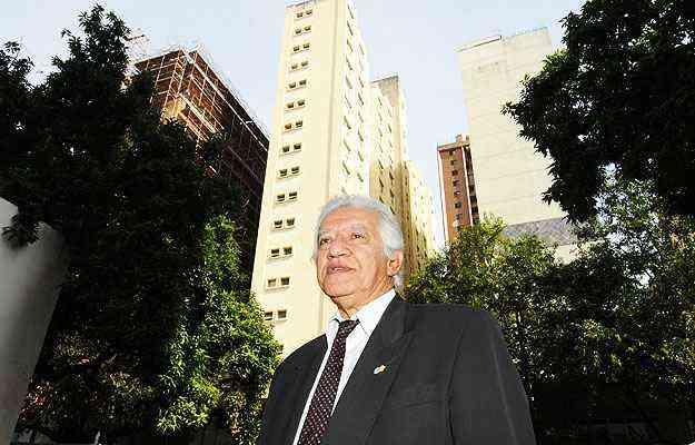Otimar Bicalho, presidente da CMI/Secovi-MG, espera mais lançamentos imobiliários de classe média na região - Euler Junior/EM/D.A Press