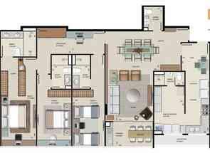 Apartamento, 3 Quartos, 2 Vagas, 3 Suites em Sqnw 108 Bloco H, Noroeste, Brasília/Plano Piloto, DF valor de R$ 1.668.000,00 no Lugar Certo