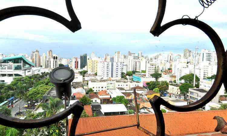 Vista do Carmo, do alto da Igreja Nossa Senhora do Carmo, um das principais referências do bairro  - Marcos Michelin/EM/D.A Press-21/1/13