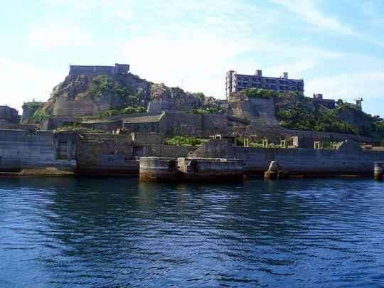 Cidade fantasma no meio do mar é atração turística no Japão. Ilha construída no século 19 por montadora de carros agora é cenário surpreendente em pleno oceano