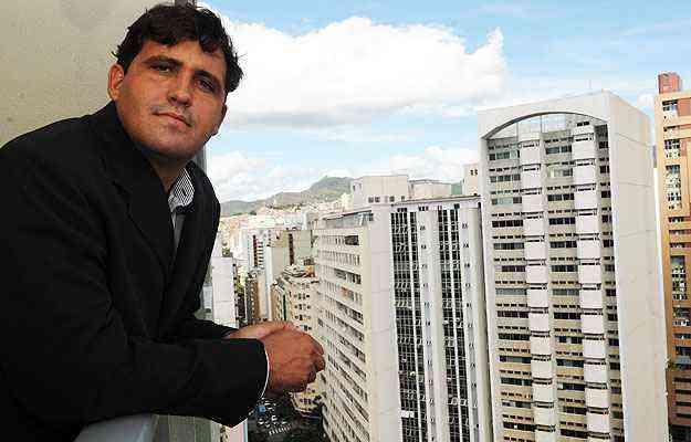 Milton Aureliano, diretor da M. Jácome Imóveis, diz que a área central está cada vez mais atrativa pelo preço mais acessível - Cristina Horta/EM/D.A Press