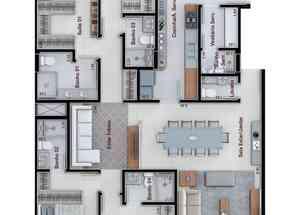 Apartamento, 4 Quartos, 3 Vagas, 4 Suites em Sqnw 110 Bloco H, Noroeste, Brasília/Plano Piloto, DF valor de R$ 2.300.000,00 no Lugar Certo