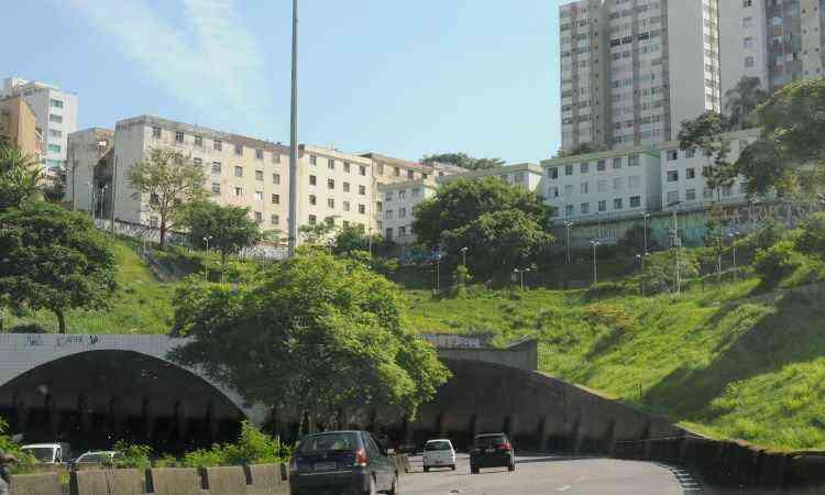 Porta de entrada da Região Leste para quem vem do Centro, o bairro abriga o começo da Avenida Cristiano Machado - Jair Amaral/EM/D.A Press