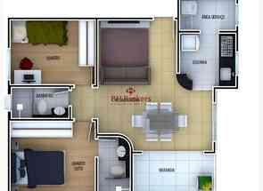 Apartamento, 2 Quartos, 2 Vagas, 1 Suite em Maria Cecília, Serrano, Belo Horizonte, MG valor de R$ 420.000,00 no Lugar Certo