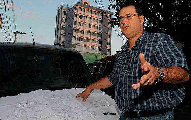 Engenheiro Alexandre Deschamps diz que a medida visa à segurança - Marcos Vieira/EM/D.A Press