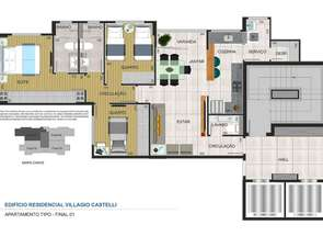 Apartamento, 2 Quartos, 2 Vagas, 2 Suites em Rua Iraí, Vila Paris, Belo Horizonte, MG valor de R$ 720.000,00 no Lugar Certo
