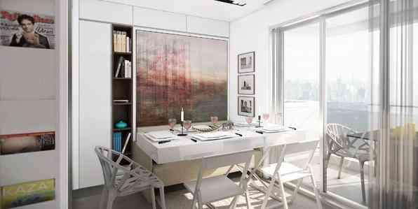 O arquiteto canadense Graham Hill desenvolveu um projeto funcional para um apartamento de 19m² do VN Quatá, em São Paulo