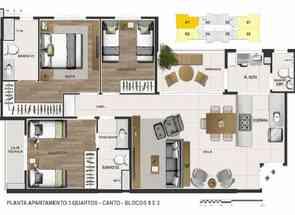 Apartamento, 3 Quartos, 2 Vagas, 1 Suite em Quadra 301, Norte, Águas Claras, DF valor de R$ 739.000,00 no Lugar Certo