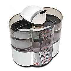 O umidificador Waterclear Premium é indicado inclusive para o quarto de crianças - Soniclear/Divulgação