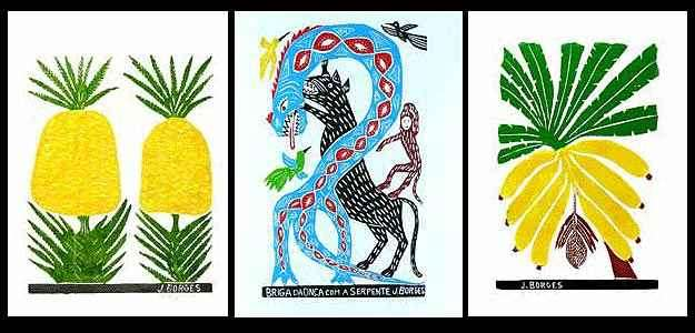 Xilogravuras, como as de J.Borges, aparecem como elemento de destaque em projetos de decoração - Jeová Franklin/Arquivo Pessoal