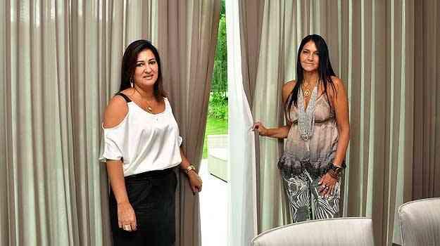 As designers de interiores Valéria Leão e Marli Viana recomendam a escolha de matéria-prima nacional para os itens que vão decorar os ambientes  - Eduardo de Almeida/RA studio