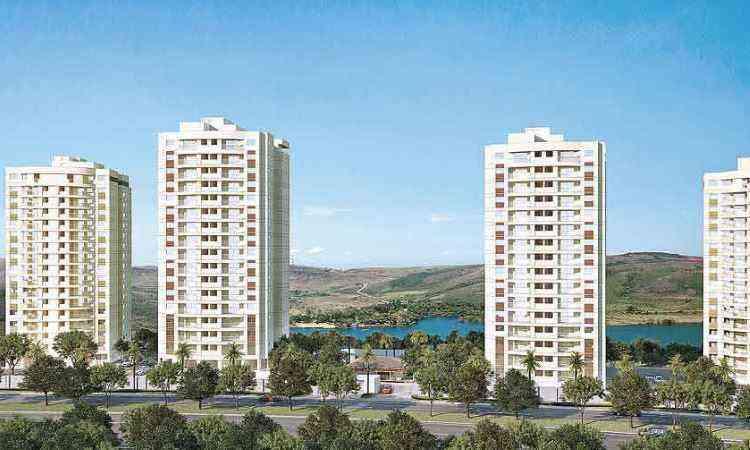 Complexo passou ser chamado de Lótus Condomínio Resort - RKM Engenharia/Divulgação
