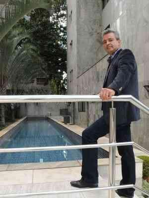 Luiz Antônio Rodrigues, presidente da Lar Imóveis: empresa oferece imóveis com 30% de desconto - Cristina Horta/EM/D.A Press 19/8/2015