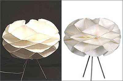 Luminária simula as fases de uma flor - Divulgação