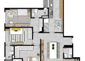 Apartamento, 3 Quartos, 2 Vagas, 3 Suites em Avenida Parque, Norte, Águas Claras, DF valor de R$ 950.000,00 no Lugar Certo