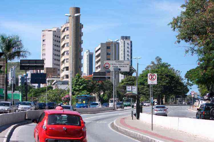 A expansão do Sion se deu na década de 1940 e hoje é um dos bairros mais procurados para morar - Edesio Ferreira/EM/D.A Press