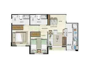 Apartamento, 2 Quartos, 1 Vaga, 1 Suite em Qnh, Taguatinga Norte, Taguatinga, DF valor de R$ 148.000,00 no Lugar Certo
