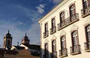 Vista parcial do centro histórico de São João del-Rei