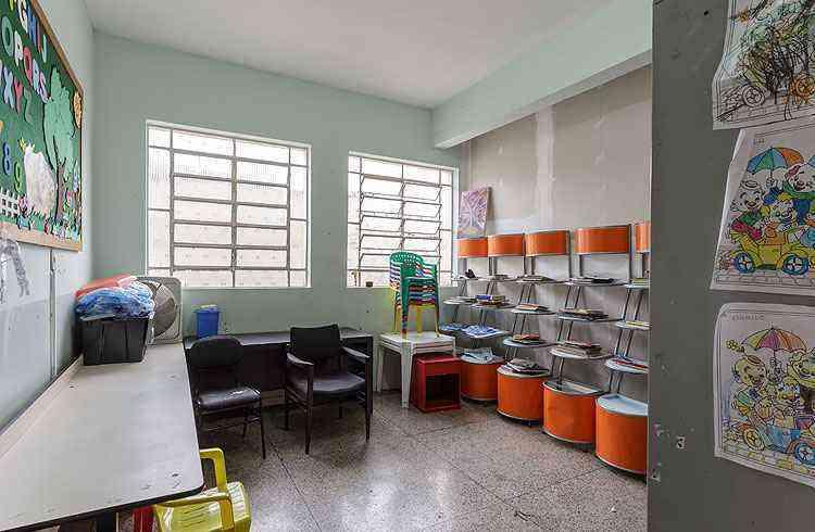Espaço de leitura e de diversão das crianças será transformado em briquedoteca - Osvaldo Castro/Divulgação