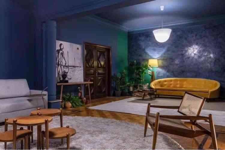 Ambiente Estar entre Nós, das designers de interiores Julianny Rocha e Patrícia Bigonha - Ivan Araújo/Fotografia de Arquitetura/Divulgação