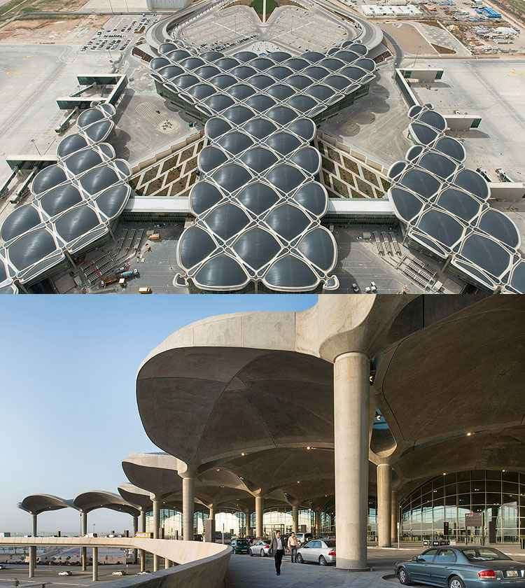 Aeroporto Internacional de Queen Alia - Foster - Partners/Divulgação