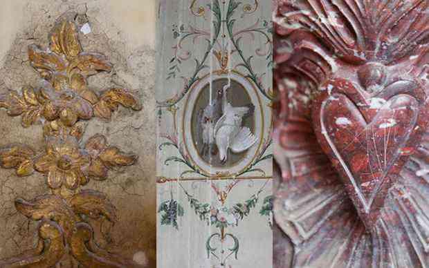 Detalhes da decoração do castelo - Craig e Karina Waters/Divulgação