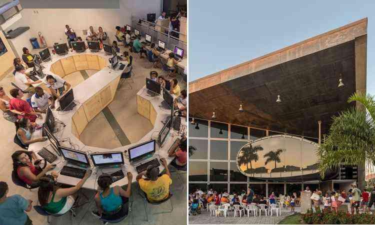 O projeto foi escolhido pelo público na categoria de edifícios governamentais ou municipais - divulgação / Architizer