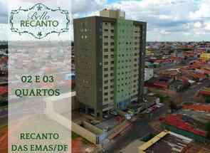Apartamento, 3 Quartos, 1 Vaga, 1 Suite em Quadra 406, Recanto das Emas, Recanto das Emas, DF valor de R$ 220.000,00 no Lugar Certo