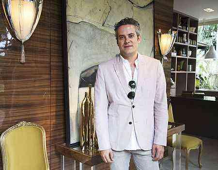 Luís Fábio Rezende de Araújo mostra uma composição cheia de luxo e conforto para receber bem - Thiago Ventura/EM/D.A Press