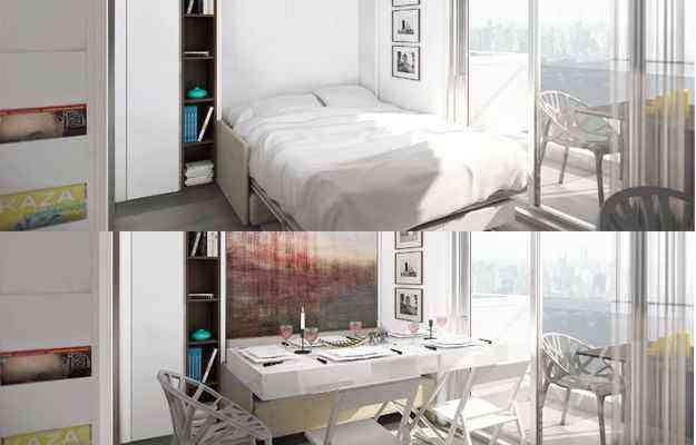 Apartamento de 19 metros quadrados em São Paulo - Divulgação