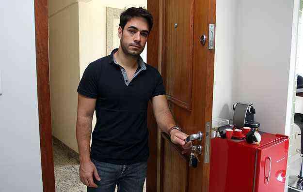 O empresário Handel Gomes, de 35 anos, adquiriu dois apartamentos em 2012 como investimento -  Edesio Ferreira/EM/D.A Press