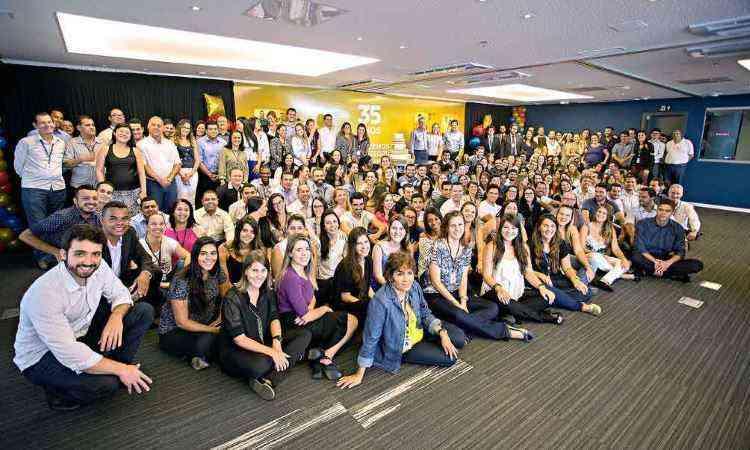 Equipe da Direcional Engenharia: empresa tem sede em Belo Horizonte e está presente em 26 cidades - Direcional/Divulgação
