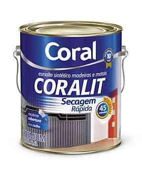A Coralit ganhou um novo integrante: o novo Coralit Secagem Rápida é composto por resina tecnológica, permitindo a segunda demão depois de 45 minutos - Coral/Divulgação
