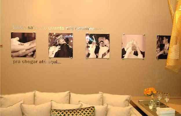Sala de jantar dos amigos, projeto de Carolina Lage para a Casa Cor - Thiago Ventura/Portal Uai/D.A.Press