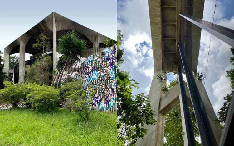A casa repousa na visão descortinada em 360º entre a Serra do Curral e a Praça do Papa - Carolina Davis/Divulgação