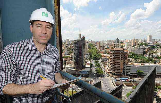 Frederico Correia Lima, presidente do Ibape-MG, diz que a maioria das obras de ampliação é ilegal  - Gladyston Rodrigues/EM/D.A Press