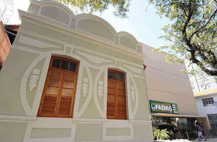 Bairro mantém grande número de construções antigas; muitas transformadas em comércio - Leandro Couri/EM/D.A Press