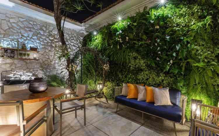Ambiente Jardim de Inverno, da designer de interiores e arquiteta Gabriela Mendes - Ivan Araújo/Fotografia de Arquitetura/Divulgação