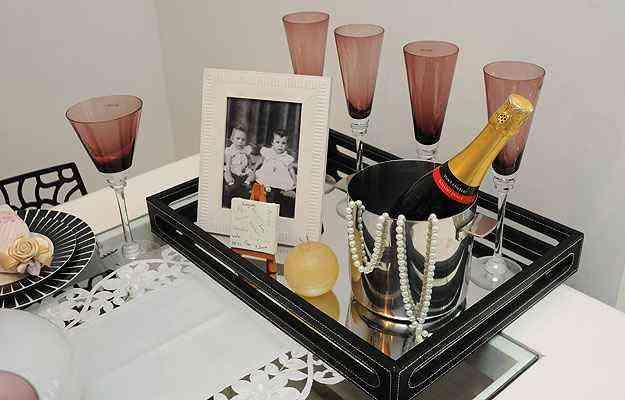 Colocar uma foto da família dá um ar carinhoso e íntimo à decoração  - Gladyston Rodrigues/EM/D.A press