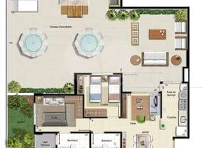 Apartamento, 2 Quartos, 1 Vaga, 1 Suite em Qn 508 Conjunto, Samambaia Sul, Samambaia, DF valor de R$ 301.000,00 no Lugar Certo