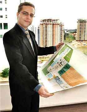 Thiago Gonçalves diz que Conartes monta um apartamento decorado como modelo - Eduardo Almeida/RA Studio