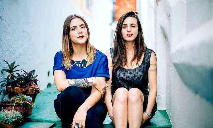 As arquitetas Renata da Matta e Luísa Garcia utilizam referências urbanas para compor os espaços do QG - Priscila Bartolomeu/Divulgação