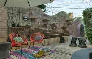 Jardim da Vila Urbana, de Jordana Cotta e Barbara Chaves, da Pigmento Arquitetura