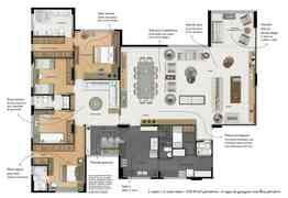 Apartamento, 4 Quartos, 4 Vagas, 2 Suites a venda em Rua Fonte, Vila da Serra, Nova Lima, MG valor a partir de Consultar preço no LugarCerto