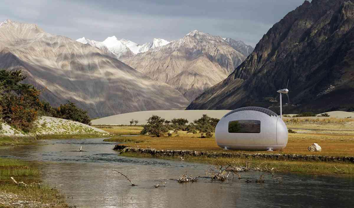 Estrutura segue o conceito das 'tiny houses' e já está disponível para venda