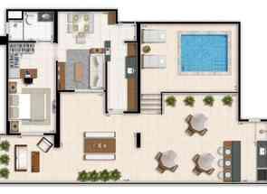 Cobertura, 1 Quarto, 1 Vaga, 1 Suite em Pistão Sul, Águas Claras, Águas Claras, DF valor de R$ 462.000,00 no Lugar Certo